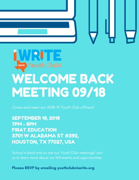 YC Welcome Back (September 2018)