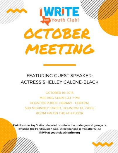 YC October Meeting